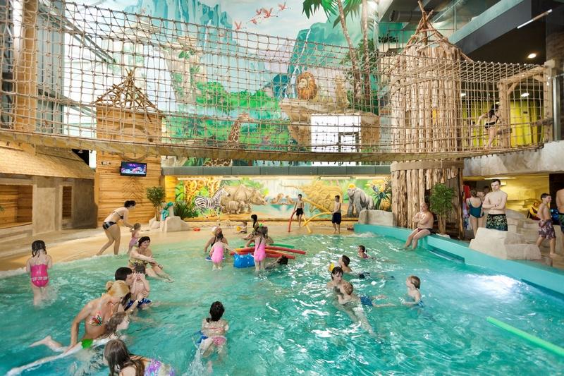 Друскининкай аквапарк, развлечения для детей в Литве
