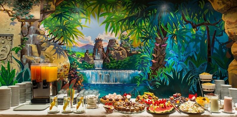 Еда в аквапарке Друскининкай
