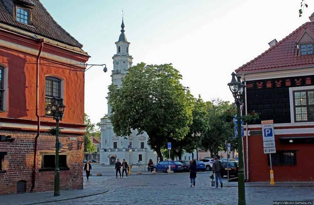 Ратушная площадь Каунаса